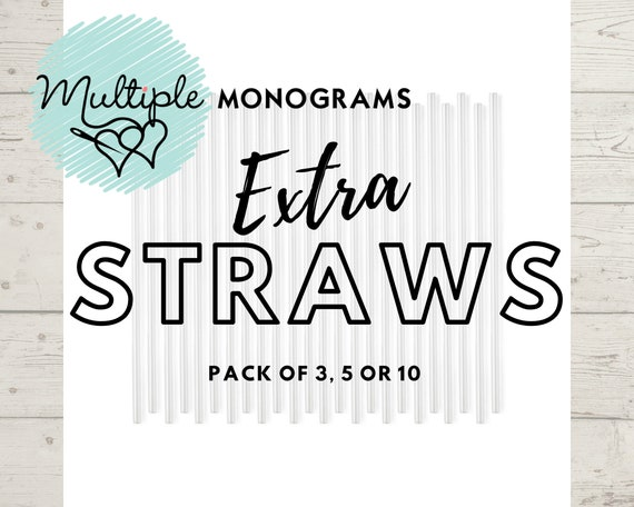 Extra SWIG Straws for 32oz and 22oz Tumblers