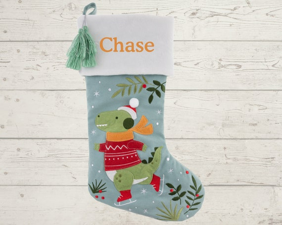 Embroidered Christmas Stocking with Personalization