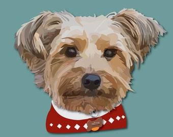 Custom Pet Portraits-Printed & Shipped!