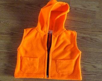 a6c0764903ba Baby fleece vest