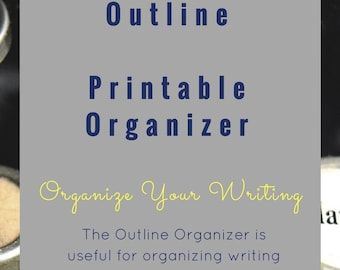 Outline Printable Graphic Organizer