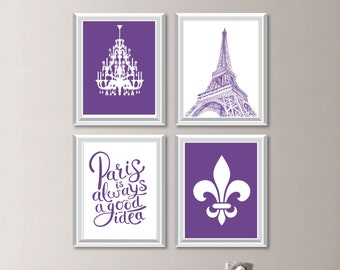 Baby Girl Nursery Art Prints. Paris Decor. Paris Bedroom Decor. Paris Print. Paris Wall Art. Paris Nursery Art. Eiffel Tower Decor. (NS-808)