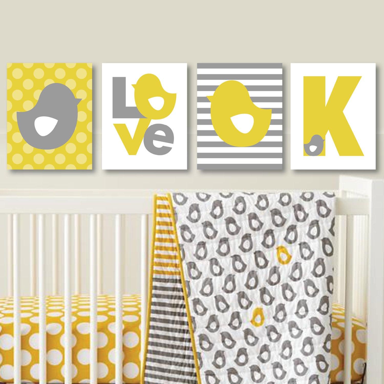 Not a Peep Love Chicks Print Trio - Decor. Nursery. Girl. Chick ...