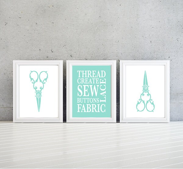 Sewing Room Art Print - Sewing Room Sign - Sewing Room Wall Decor ...