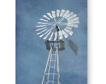 Windmill on Canvas Home Decor
