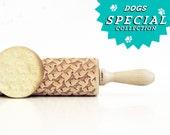 Labrador !  Embossing rolling pin, laser engraved rolling pin