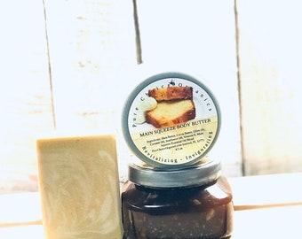 Main Squeeze Vegan Inspired Lemon Artisan Soap! l Gifts Set