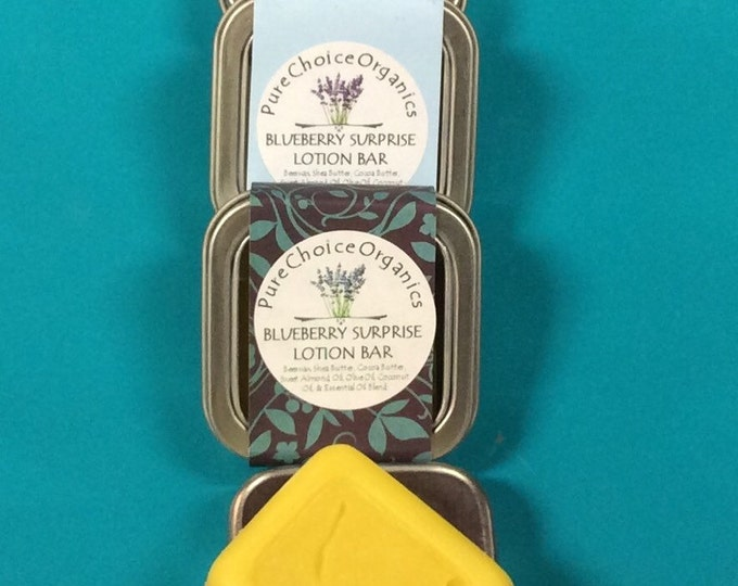 Blueberry Surprise Lotion & Massage Bar l Gifts Under 10
