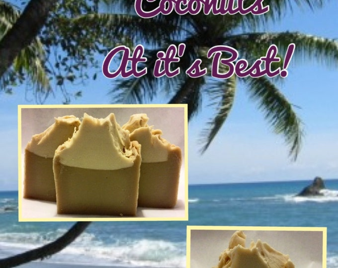 Orchinut Vegan Inspired Artisan Coconut Milk Soap! l Gifts Under 10