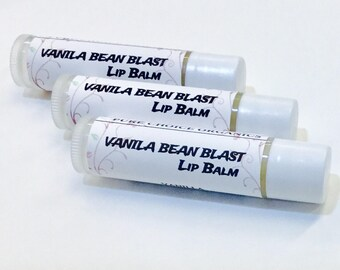 Vanilla Bean Blast Lip Balm l Gifts Under 5