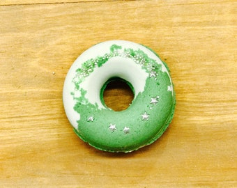 Cucumber Melon | Bubbling Donut Bath Bomb l Gifts Under 10