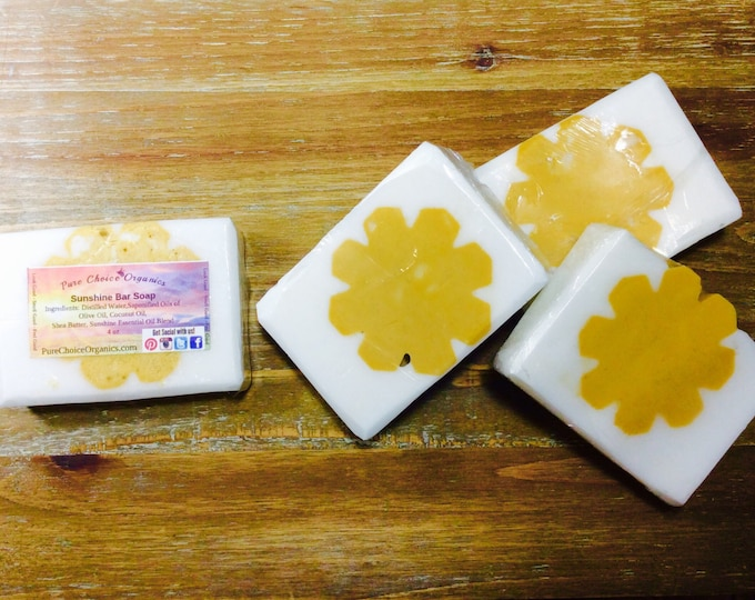 Sunshine Bar Soap l Gifts Under 10