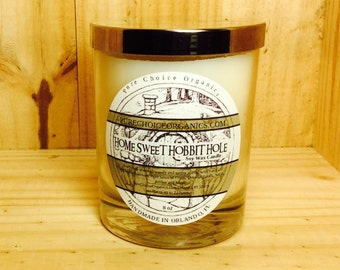 Home Sweet Hobbit Hole Soy Wax Candles Holiday Gift | Birthday Gifts Under 20