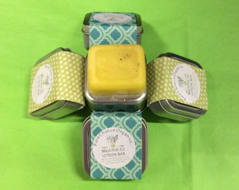 Breathe-EZ Lotion & Massage Bar l Gifts Under 10
