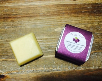 Black Raspberry Vanilla Lotion & Massage Bar l Gifts Under 10