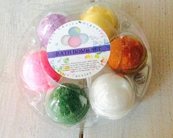 Eggxquisite Bath Bomb Bath Bomb Set l Gifts Under 20