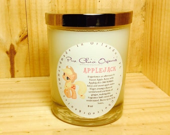 AppleJack Soy Wax Candles Holiday Gift | Birthday Gifts Under 20