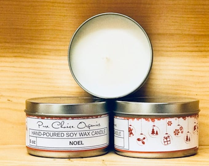 Noel Soy Wax Candles Holiday Gift | Birthday Gifts Under 20
