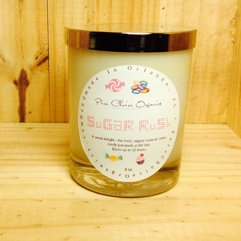 Sugar Rush Soy Wax Candles Holiday Gift
