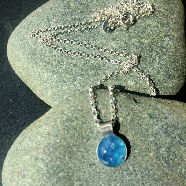 Treasured Keepsakes Memorial Jewellery Simplicity  Pendant Necklace