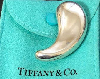 3ab359265 Rare Tiffany & Co Sterling Silver MOM Cube Necklace 18 ITALY | Etsy