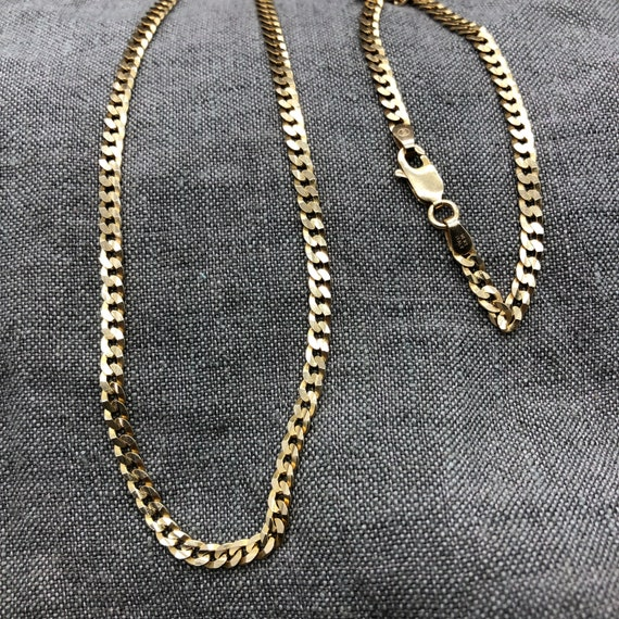 Box or Curb Chain Necklace 14k Yellow Gold I Love You Lovebirds Pendant on a 14K Yellow Gold Rope
