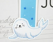 Baby Seal Large Magnetic ...