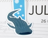 Whale Shark Large Magnetic Bookmark