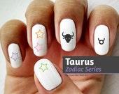 Taurus Zodiac - Water Sli...