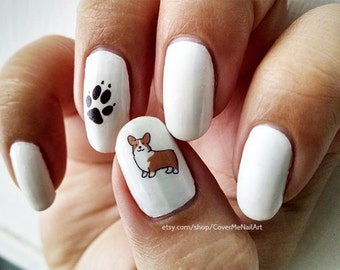 Dog Lover - Water Slide Nail Decals