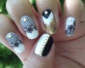 Lacy - Water Slide Nail D...