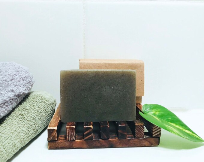 Seaberry Bar soap - Bentonite Clay Soap- Cruelty Free