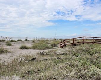 Bridge To Isle Of Palms, Ocean, Sand Dunes, Beach, Charleston, South Carolina