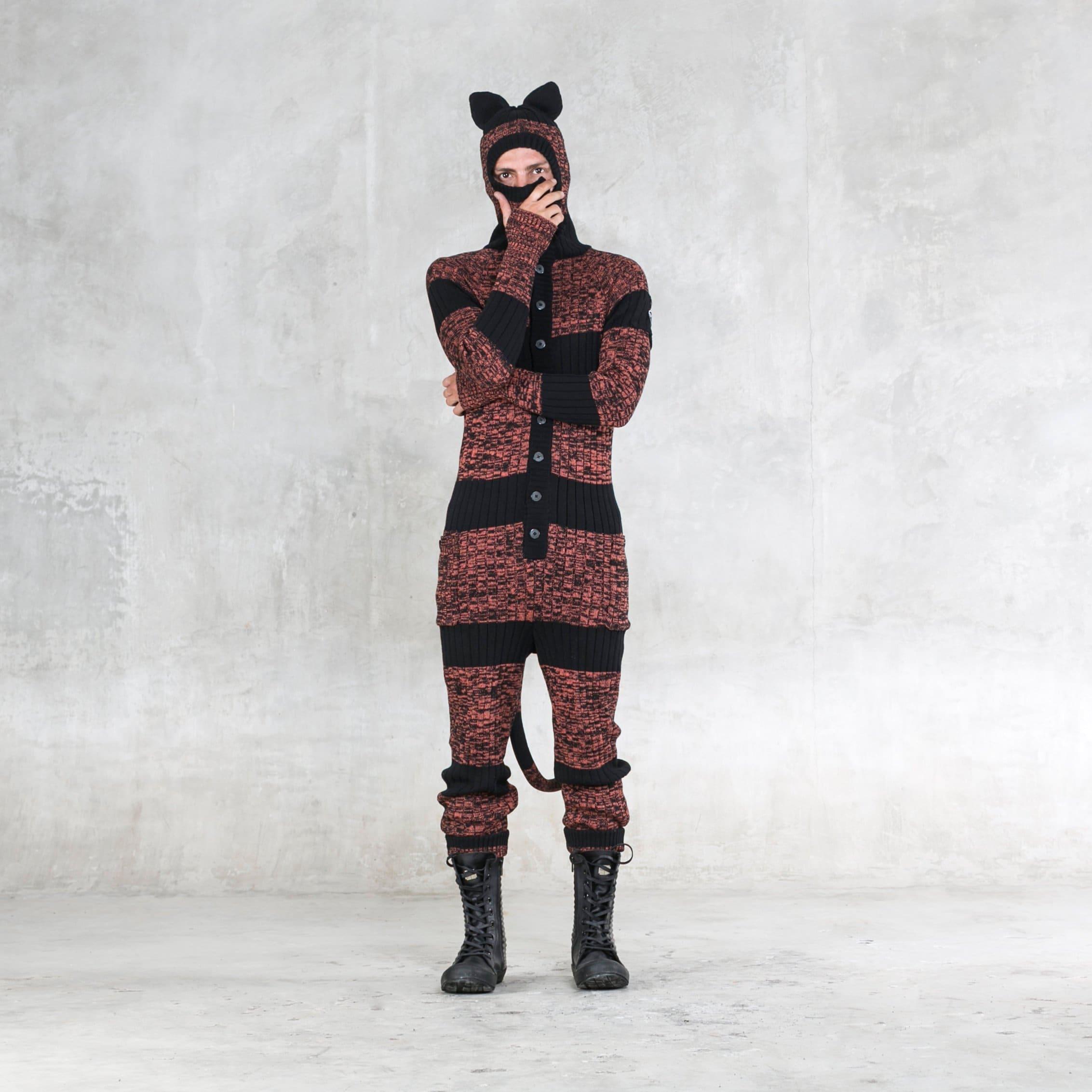 2ab009d1d TIGER Suit Unisex Pajamas All Season Onesie Men s and