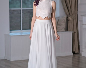 Iris - bohemian wedding dress