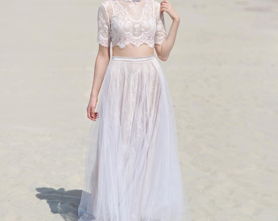 Alexandra - beach wedding dress