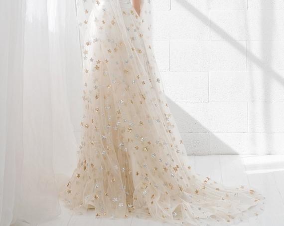 Estelle - celestial wedding skirt