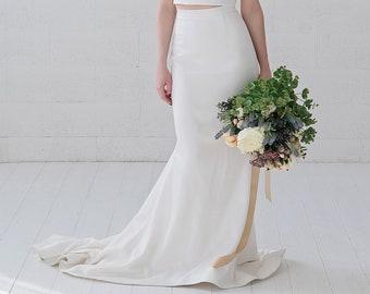 Julianne - mermaid wedding skirt