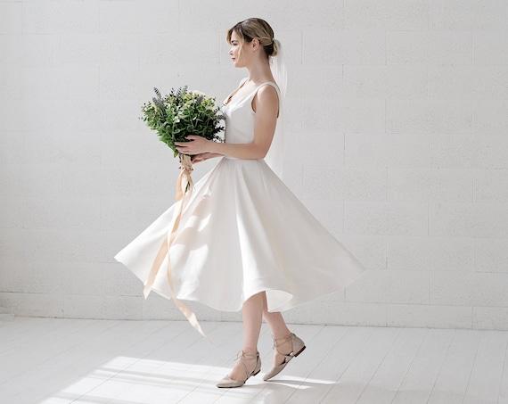 Josephine - short wedding dress
