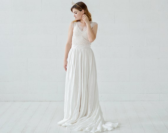 Rhea - boho wedding dress