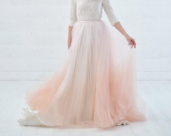 Freya - bridal overskirt