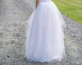 Faerie - handkerchief layers tulle skirt