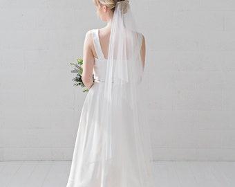 River - handkerchief veil