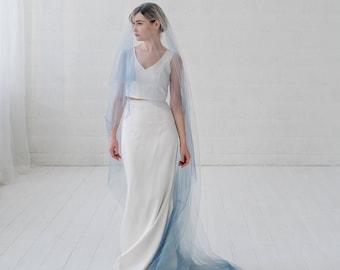 Leah - ombre bridal veil
