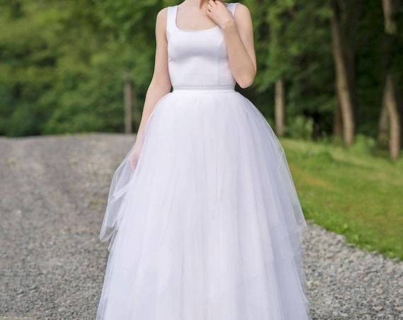 Faerie - ballerina inspired wedding dress