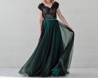 Morgana -  alternative bride bridal gown