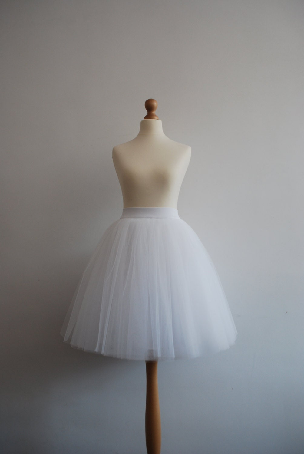 White Swan Ladies Tulle Skirt Adult Tutu Skirt Off Etsy