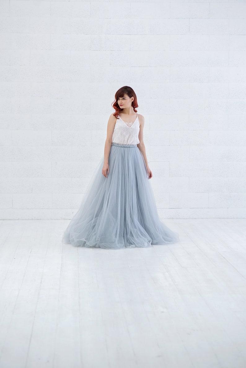 Cora  bohemian wedding dress / unique wedding dress / bridal image 0