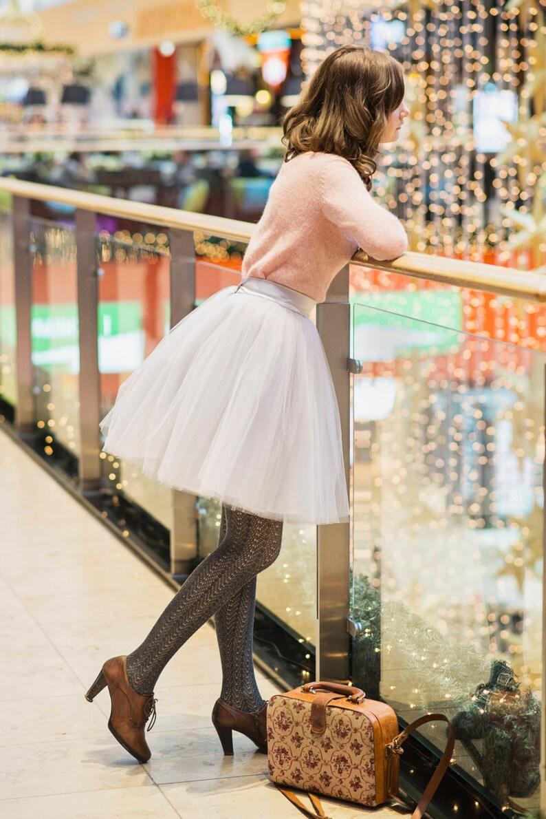 Blooming Ballerina 2: hand dyed tulle skirt  / adult tutu / image 0