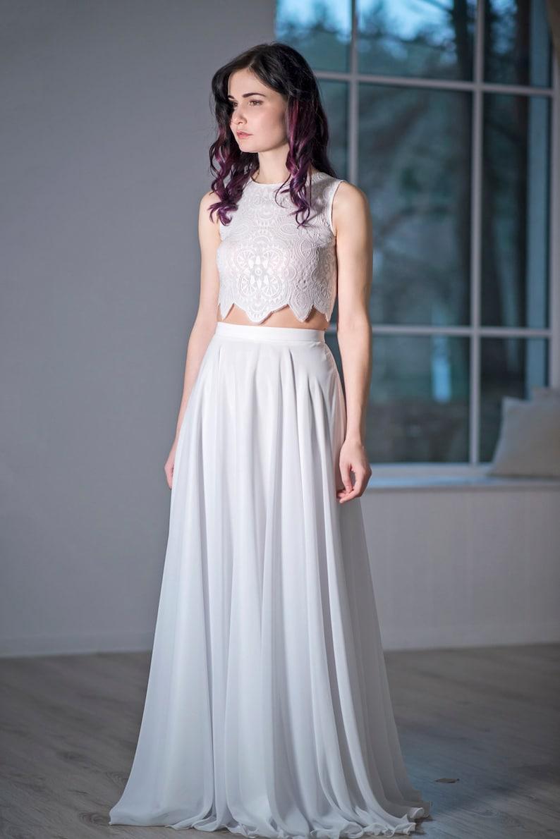 28ab9b34d3 Iris bohemian wedding dress   boho bridal gown   beach